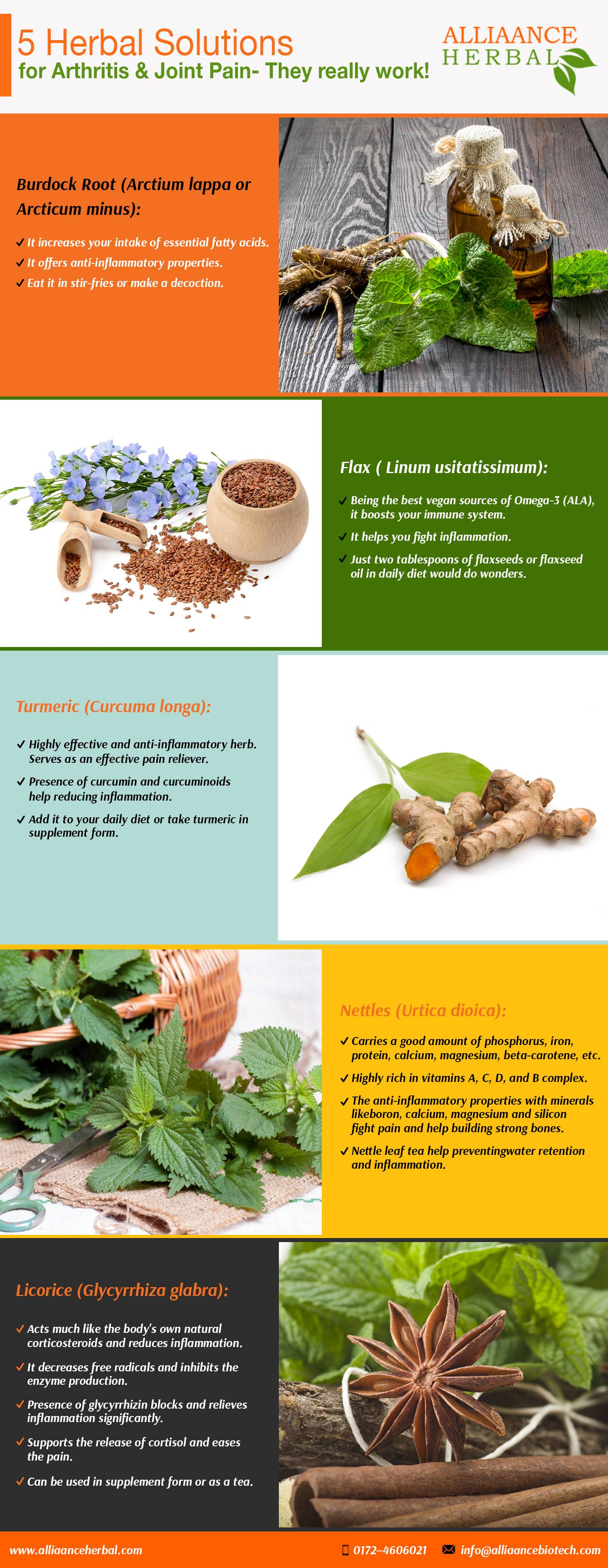 Herbal Solutions for Arthritis & Joint Pain
