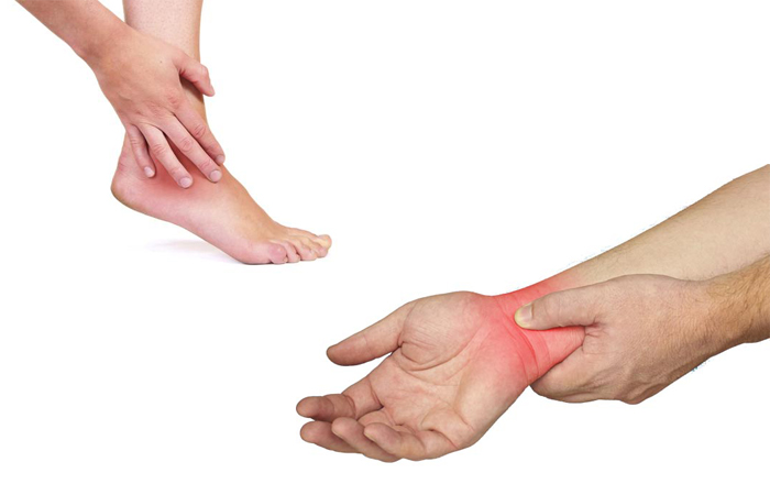 Wrist and Ankle Joint Pain